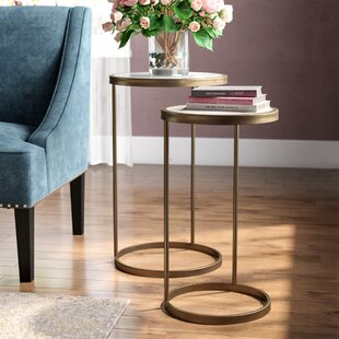 Gold End Side Tables Youll Love Wayfair - Wayfair gold end table