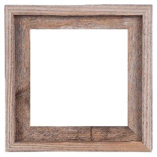 48ba9befa25 Mertie Barn Wood Reclaimed Wood Open Picture Frame