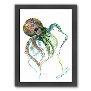 Octopus 2 By Suren Nersisyan Framed Painting Print