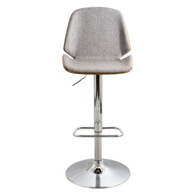 Modern Grey Swivel Bar Counter Stools Allmodern