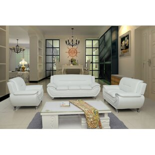 Leather White Living Room Sets You Ll Love Wayfair