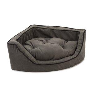 Luxury Corner Bolster Dog Bed
