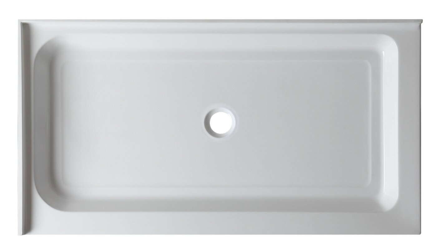 Vail 48 X 36 Double Threshold Shower Base