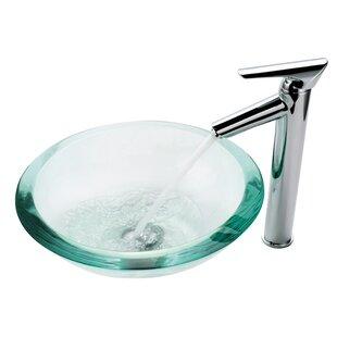 Clear Vessel Sink | Wayfair