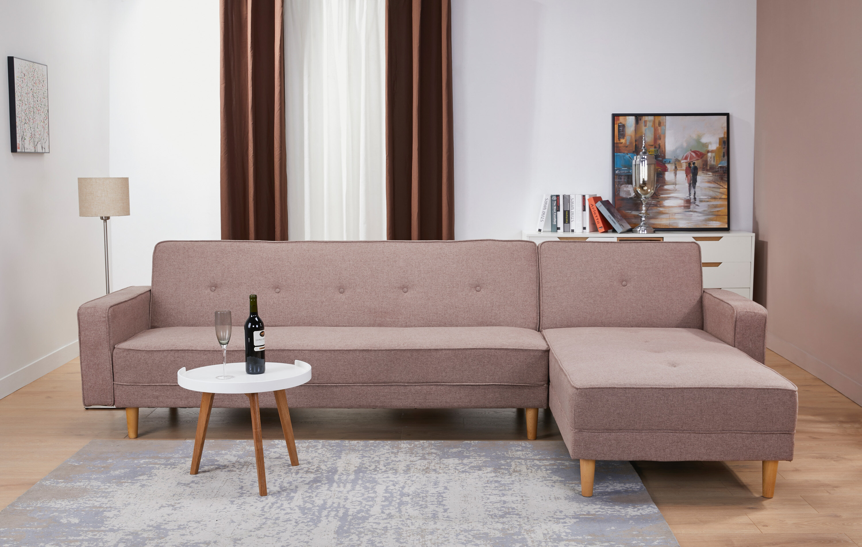 Union rustic lawrence hill convertible reclining sectional wayfair