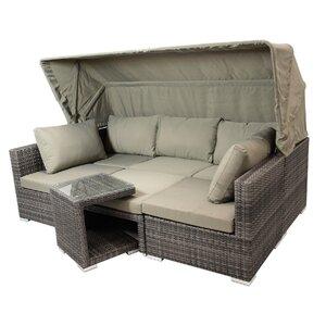 7-Sitzer Sofa-Set Berlin von Garten Living