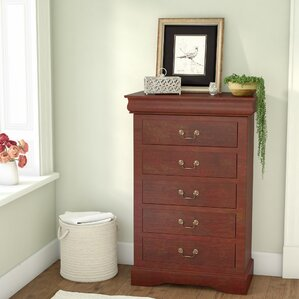 Homestead 5 Drawer Chest by Three Posts