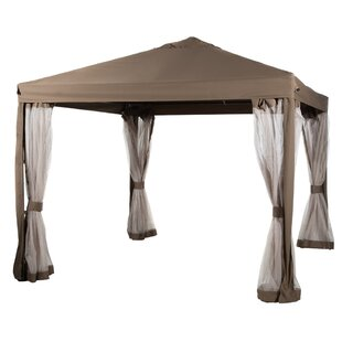 Abba Patio 10 Ft. W x 10 Ft. D Steel Pop-Up Canopy  sc 1 st  Wayfair & Outdoor Canopies Youu0027ll Love | Wayfair