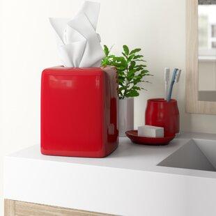 Tous les accessoires de salle de bain: Finition - Rouge   Wayfair.ca