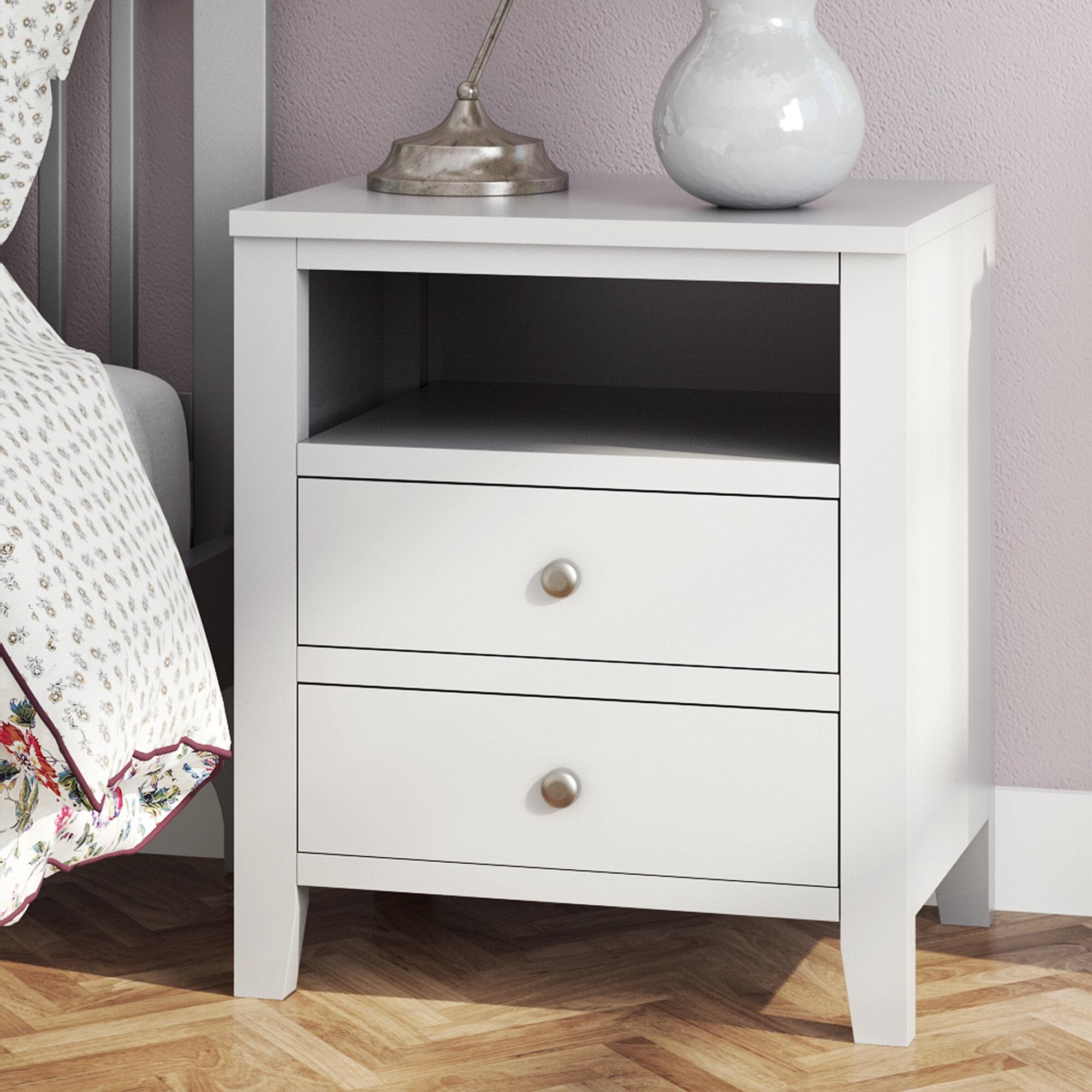 Fairmont Park Kingsbridge 2 Drawer Bedside Table Reviews Wayfair Co Uk