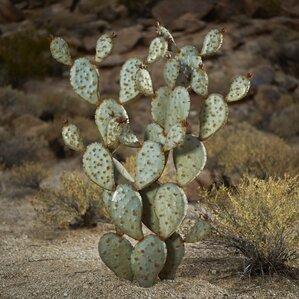 Prickly Pear Cactus Garden Art