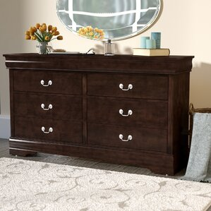 Blundell 6 Drawer Double Dresser by Charlton Home