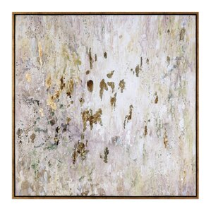 'Raindrops' Modern Abstract Framed Painting Print
