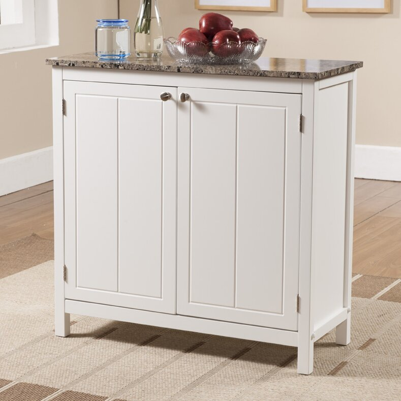 Kitchen Island Furniture Product: Alcott Hill Haubrich Kitchen Island & Reviews
