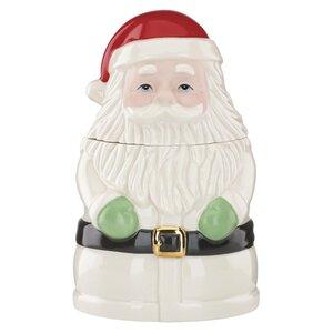 Christmas Gifts Santa Treat Cookie Jar