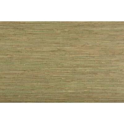 """Urban Retreat 24' x 36"""" Natural Grass Wallpaper"""