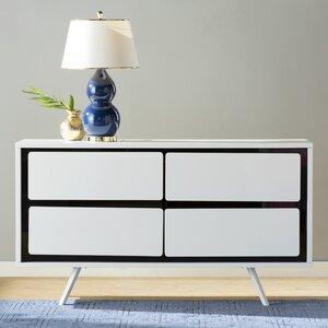 Deborah 4 Drawer Double Dresser