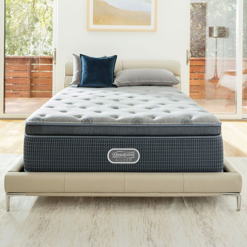 "Best Bed Stores: Simmons Beautyrest Beautysleep 13.5"" Medium Firm Pillowtop"