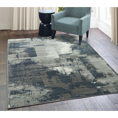 Gray Amp Silver Industrial Area Rugs You Ll Love In 2019