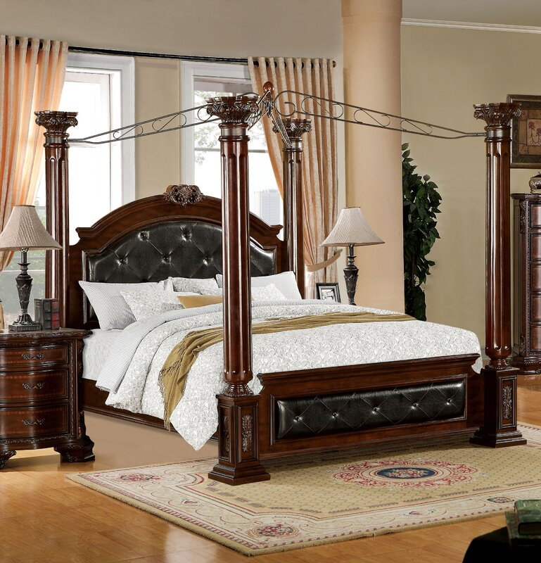 Edmore Upholstered Canopy Bed  Canopy Beds You ll Love Wayfair. Gold Dhp California King Beds   xtreme wheelz com
