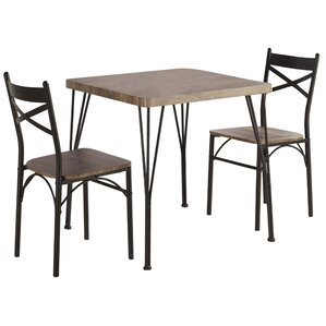 Sagers 3 Piece Dining Set by Laurel Foundry Modern Farmhouse