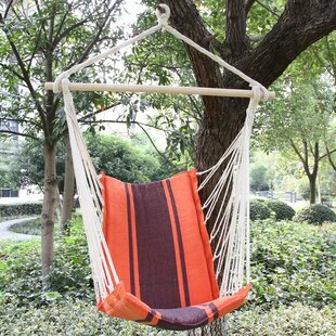 Nisbett Cotton Fabric Hanging Chair Hammock