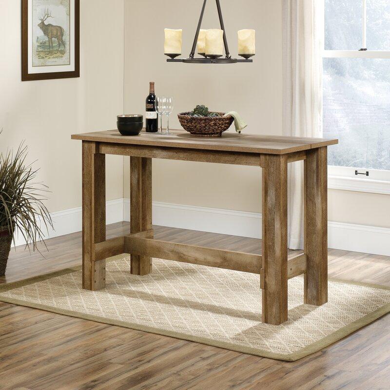 Loon Peak Maturango Counter Height Dining Table Reviews Wayfair