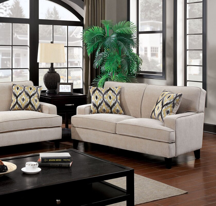 Hokku designs leyna configurable living room set reviews for Living room sets under 800
