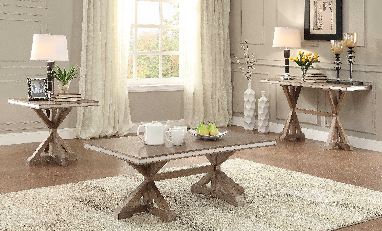 Lark Manor Arda 3 Piece Coffee Table Set & Reviews   Wayfair
