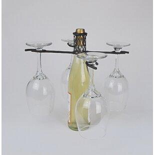 Industrial Evolution 1 Bottle Tabletop Wine Rack
