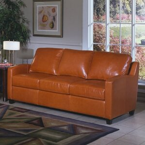 Chelsea Deco Leather Sofa by Omnia Leather