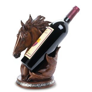 Asner Horse 1 Bottle Tabletop Wine Rack #2