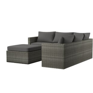 Lozen Patio Sectional With Cushions