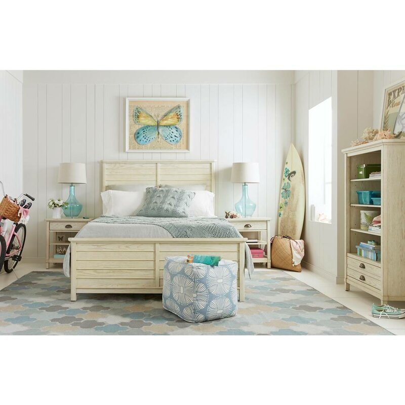 Stone & Leigh™ by Stanley Furniture Driftwood Park Panel Bed ...
