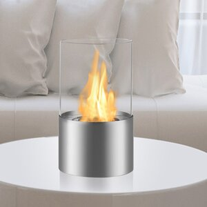 Circum Ventless Bio-Ethanol Tabletop Fireplace
