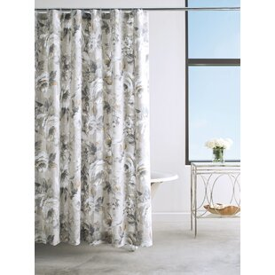 Moonlit Cotton Shower Curtain