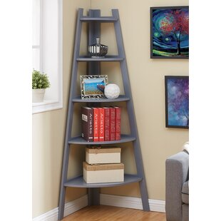 Foskey Decorative 5 Tier Frame Corner Unit Bookcase