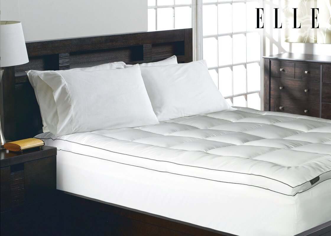 1200 Thread Count Cotton Rich Solid Mattress Pad