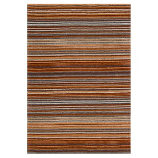 Nar Hand Woven Wool Orange Rug