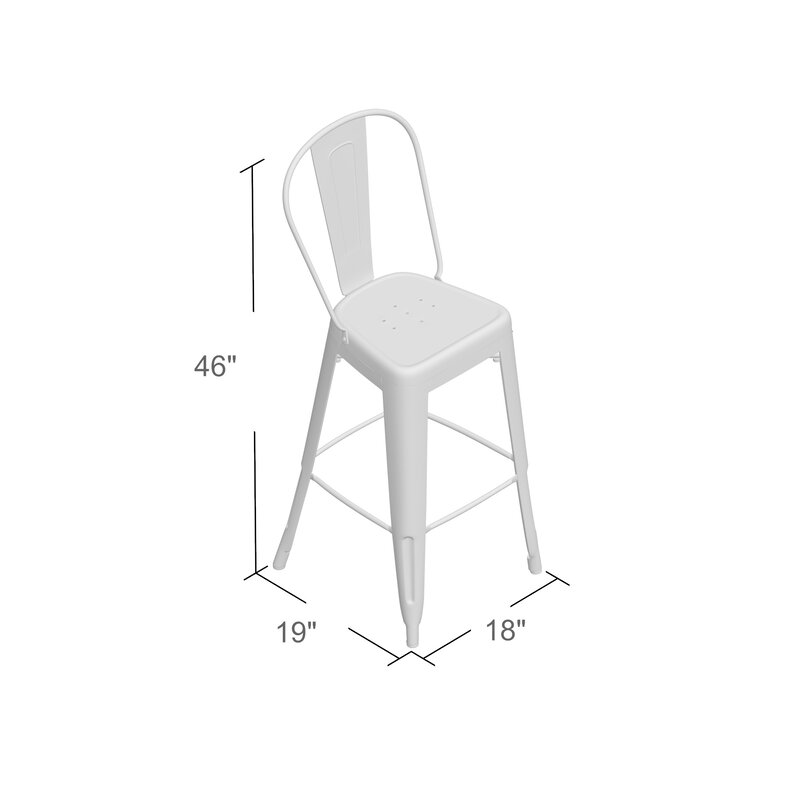 Cercis 30 Quot Bar Stool Amp Reviews Birch Lane