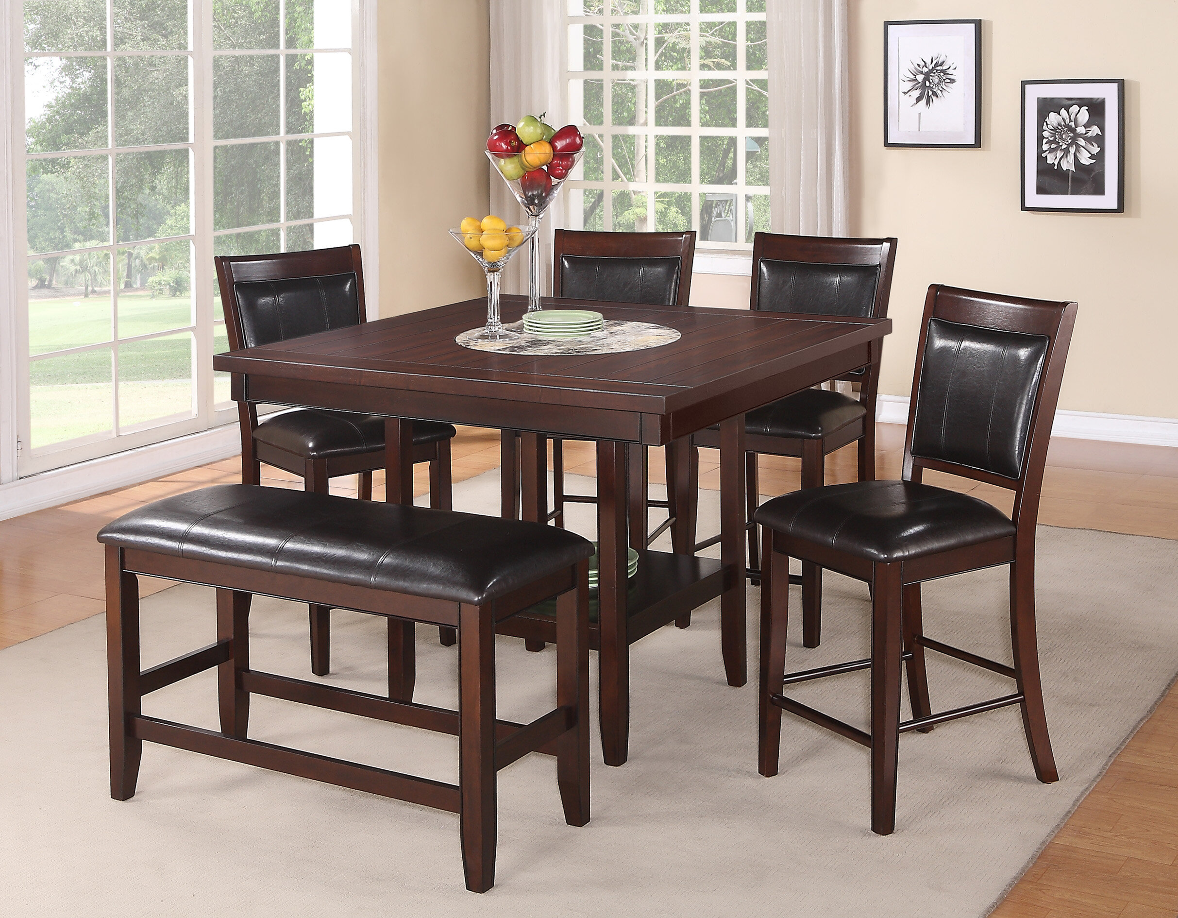 24 Inch High Dining Chairs | Wayfair