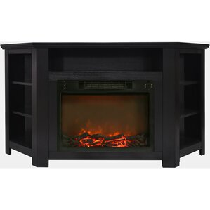 Red Barrel Studio Cesar Modern Electric Fireplace TV Stand Image