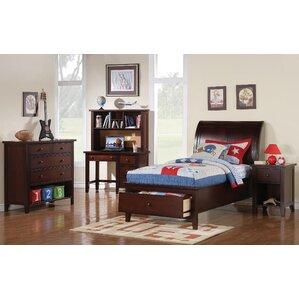 Twin Sleigh Customizable Bedroom Set
