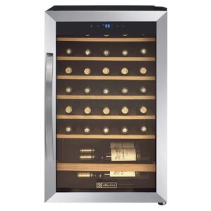 34 Bottle Cascina Single Zone Freestanding Wine Cooler by Allavino