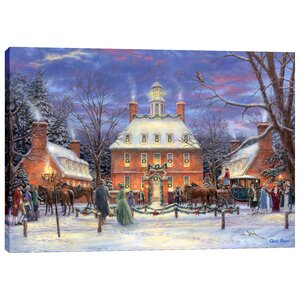 'The Governor's Party' by Chuck Pinson Painting Print on Wrapped Canvas
