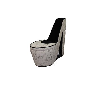 Old World High Heel Shoe Lounge Chair