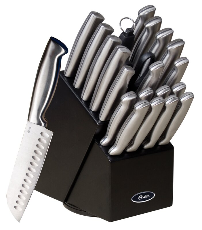 Gibson baldwyn 22 piece knife set reviews wayfair baldwyn 22 piece knife set teraionfo