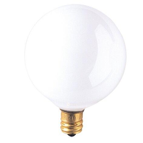 Bulbrite Industries Candelabra 25W Frosted 130-Volt (2700K) Incandescent Light Bulb (Set of 43)