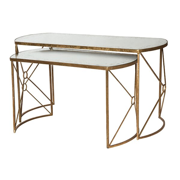 2 Piece Nesting Coffee Tables | Wayfair