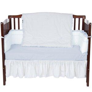 Unique 4 Piece Crib Bedding Set